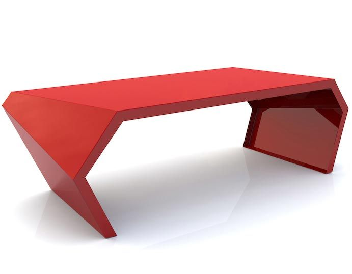 Pac Coffee Table. Red Coffee TablesModern ...