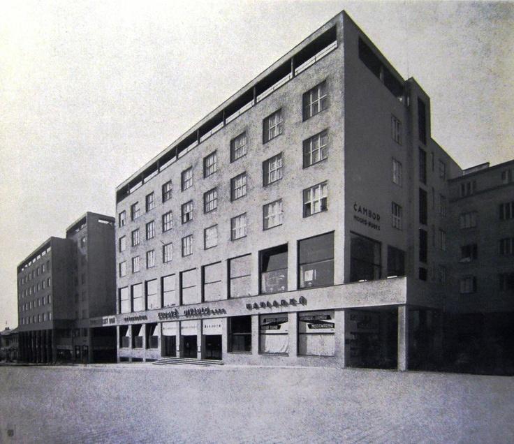 Živnostenský dom /The House of Trade Klement Šilinger, 1929-1930 (currently: Nová scéna Theatre)
