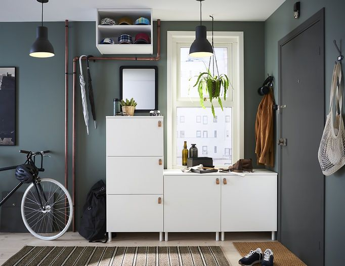 Ikea Platsa System Units Come In Different Sizes And Depths So You Can Put Together A Combin At Home Furniture Store Ikea Hallway Contemporary Modern Furniture