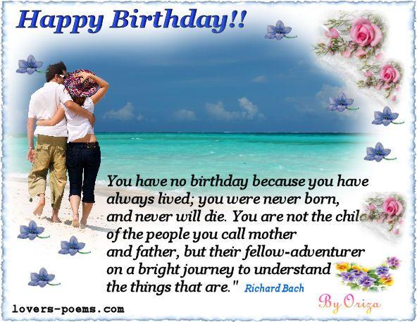 Happy Birthday My Dear!