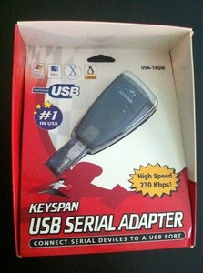 Keyspan:usb serial adapter for mac os x-v2. X user manual. Table of.