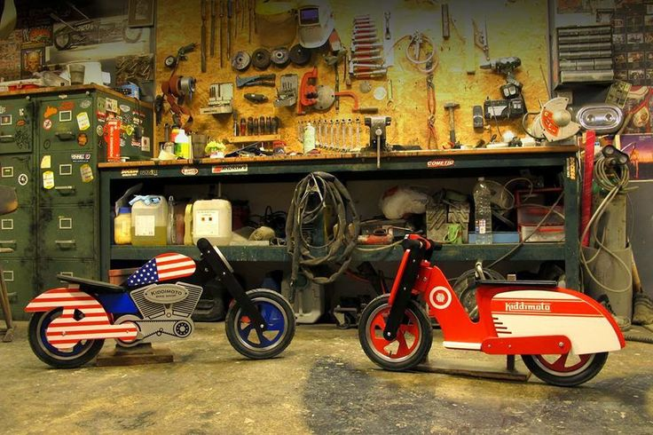 Chooper USA & Scooter Red and White