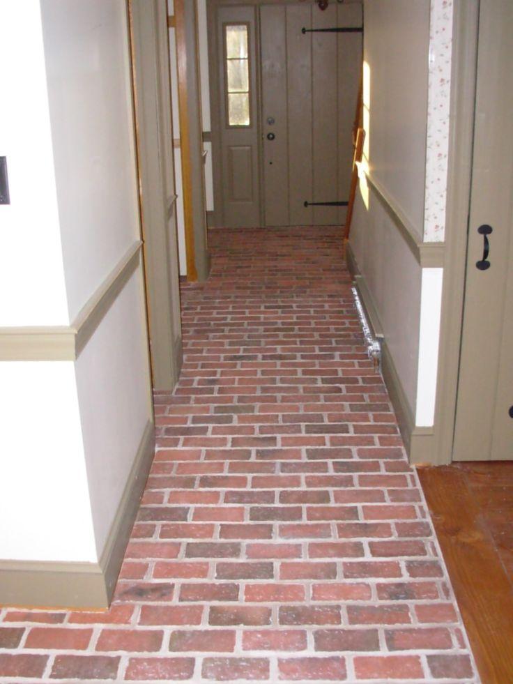 100 besten brick tile floor entries and hallways bilder for Boden ziegel