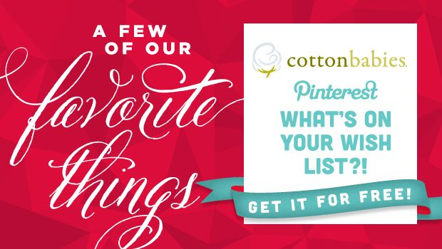 It's the most wonderful time of the year! The Cotton Babies elves are back again to spread some holiday cheer!  Right now, most of us are busy making our list and checking it twice. We're adding (and asking for) some of our most favorite things, and we're all excited to see what the Cotton Babies [&hellip