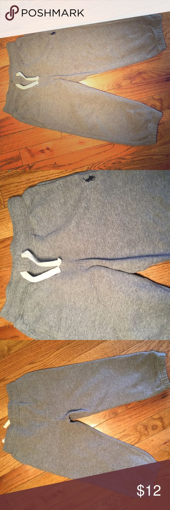Polo Sweatpants Toddler Grey Sweatpants for toddler 3t. In like-new condition without stains or rips. Let's go! Dig In The FlowerPot ‼️!! Polo by Ralph Lauren Bottoms Sweatpants & Joggers