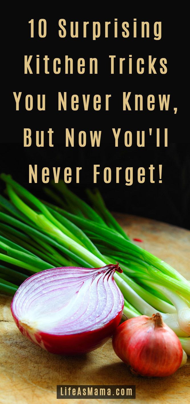 Some of these are really weird, but they work! http://lifeasmama.com/10-surprising-kitchen-tricks-you-never-knew-but-now-youll-never-forget/?src=PIN_RCH_KitchenTricks_4-28-14