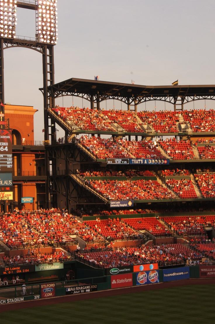 Taken at a St.Louis Cardinals baseball game.