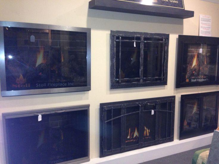 doors fireplace screens and fireplace enclosures stoll fireplace doors