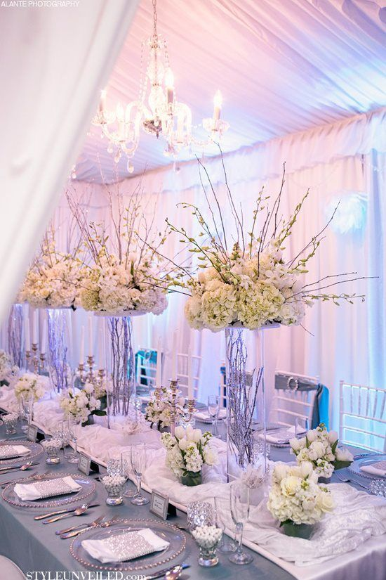 Gorgeous Long Wedding Tables | Calligraphy by Jennifer