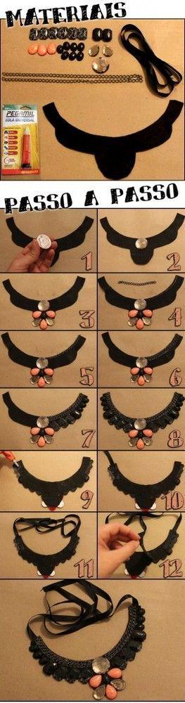 collar de moda maxi