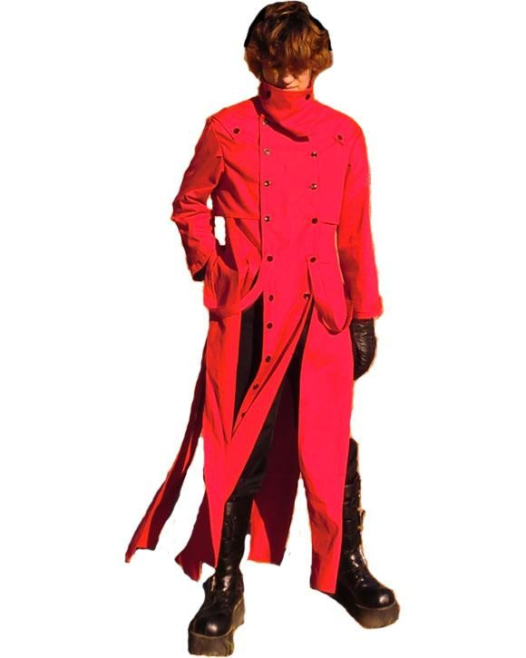 Vash The Stampede Trigun Coat PatternWolf Pack 1980 What Do You Think