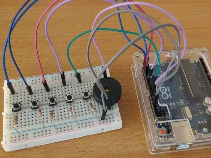 Unravel Preset Piano Easy Arduino Even A Ghoul Can Make It Arduino Projeleri Arduino Bilgisayar