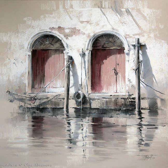Venice, pastel Olga Abramova