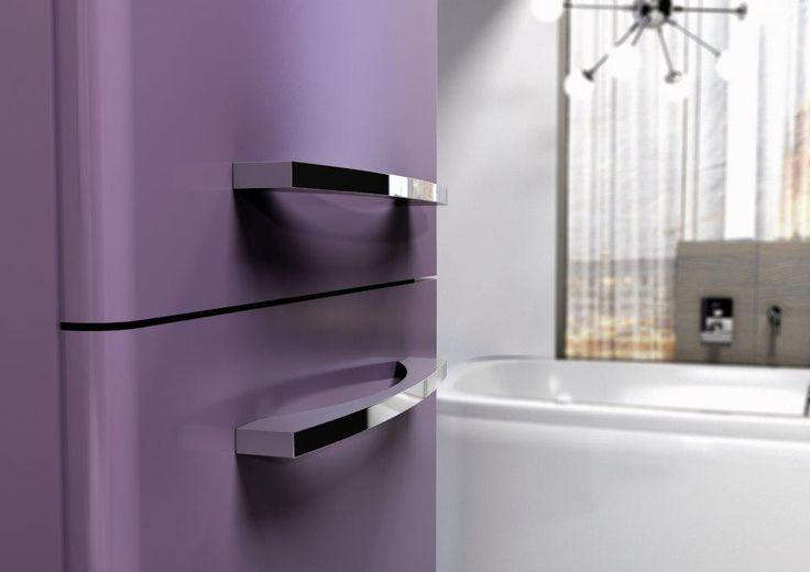 Słupek/Column 30 2D - violet mat. #elita #meble #lazienka #jump #bathroom #furniture #colorful