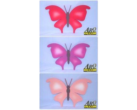 Motyl - Dekoracja Na Ścianę Do Przedszkola, Żłobka, Pokój Dziecięcy (NA ZAMÓWIENIE) 06 - ARQ - DECOR | Pracowania Dekoracji ARQ DECOR