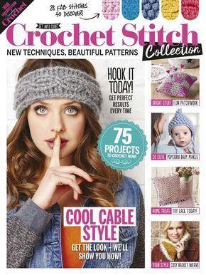 Simply Crochet Crochet Stitch Collection 2017 - 轻描淡写 - 轻描淡写