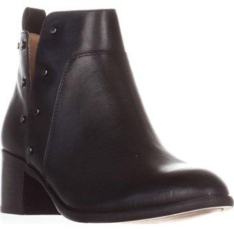 Franco Sarto Richland Studded Ankle Boots, Black.