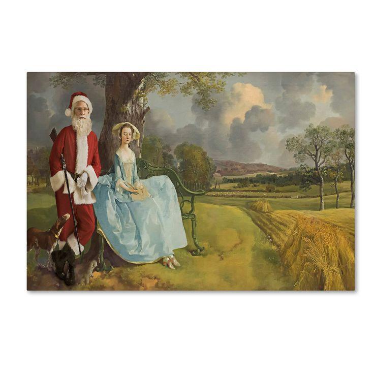 Ed Wheeler 'Gainsborough-Mr&Ms Andrews' Canvas Art