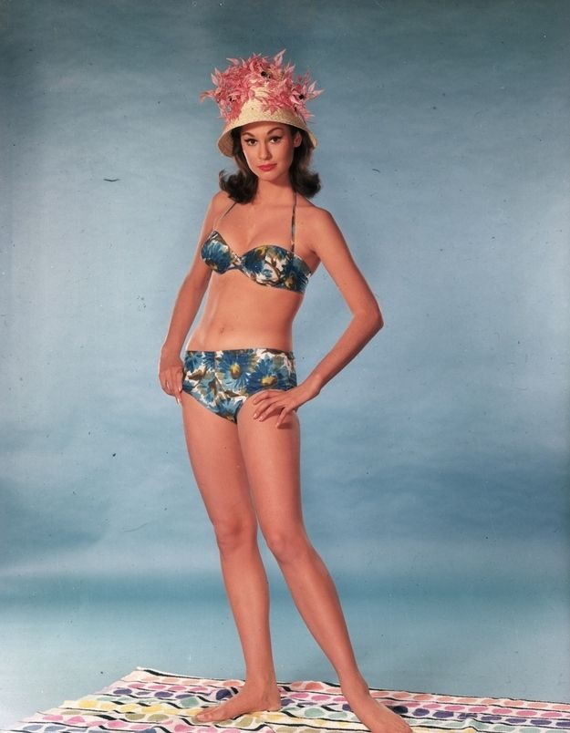 Because matching. | Vintage Swimsuits | Bathing Suits ...