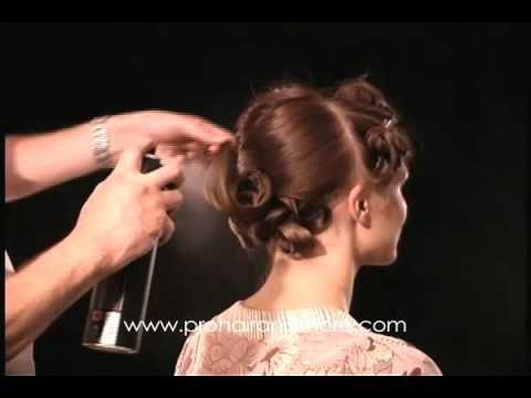 21 best peinados pelo largo images on pinterest - Como realizar peinados ...