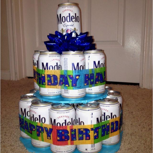 Modelo Beer Cake Cute Ideas Cakepins Com Party Ideas