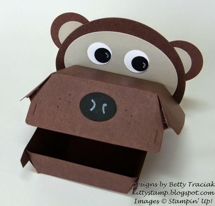 Kitty Stamp: Hamburger Box Critters