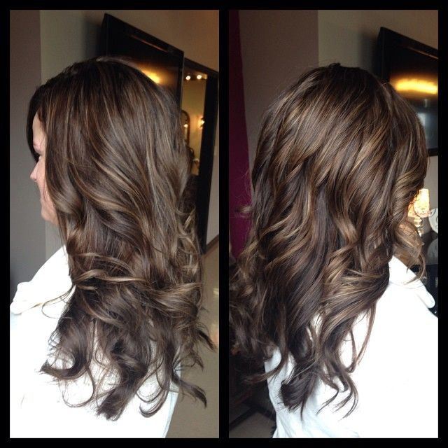 Image Result For Chocolate Hair With Auburn Lowlights And
