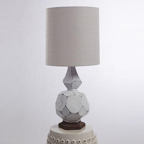 Terracotta table lamp west elm