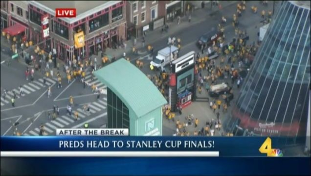 Nashville TV Station Thinks The Predators Are In The Stanley Cup Finals