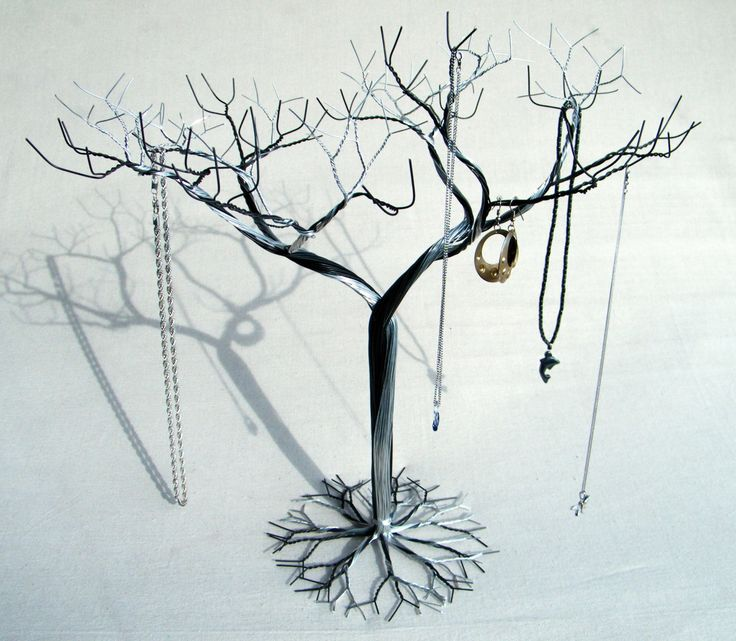 Large Hybrid Jewelry tree Stand. Jewelry holder by KunsWerk, $40.00