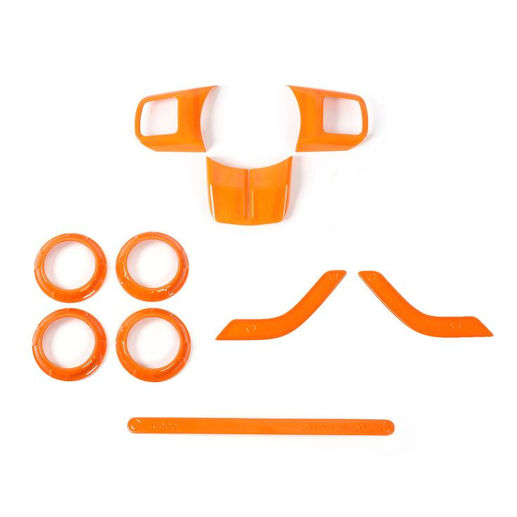 Mad Hornets - 10pcs ABS Interior Dashboard Trims Fit for Jeep Wrangler 2007-2016 2 Door Orange, $49.99 (http://www.madhornets.com/10pcs-abs-interior-dashboard-trims-fit-for-jeep-wrangler-2007-2016-2-door-orange/)