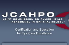 Joint Commision on Allied Health Personnel in Ophthalmology Continuing Education courses.