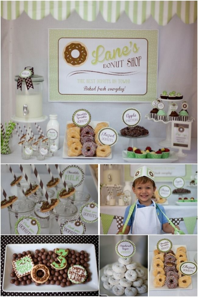 donut-birthday-party-ideas-for-boy www.spaceshipsandlaserbeams.com