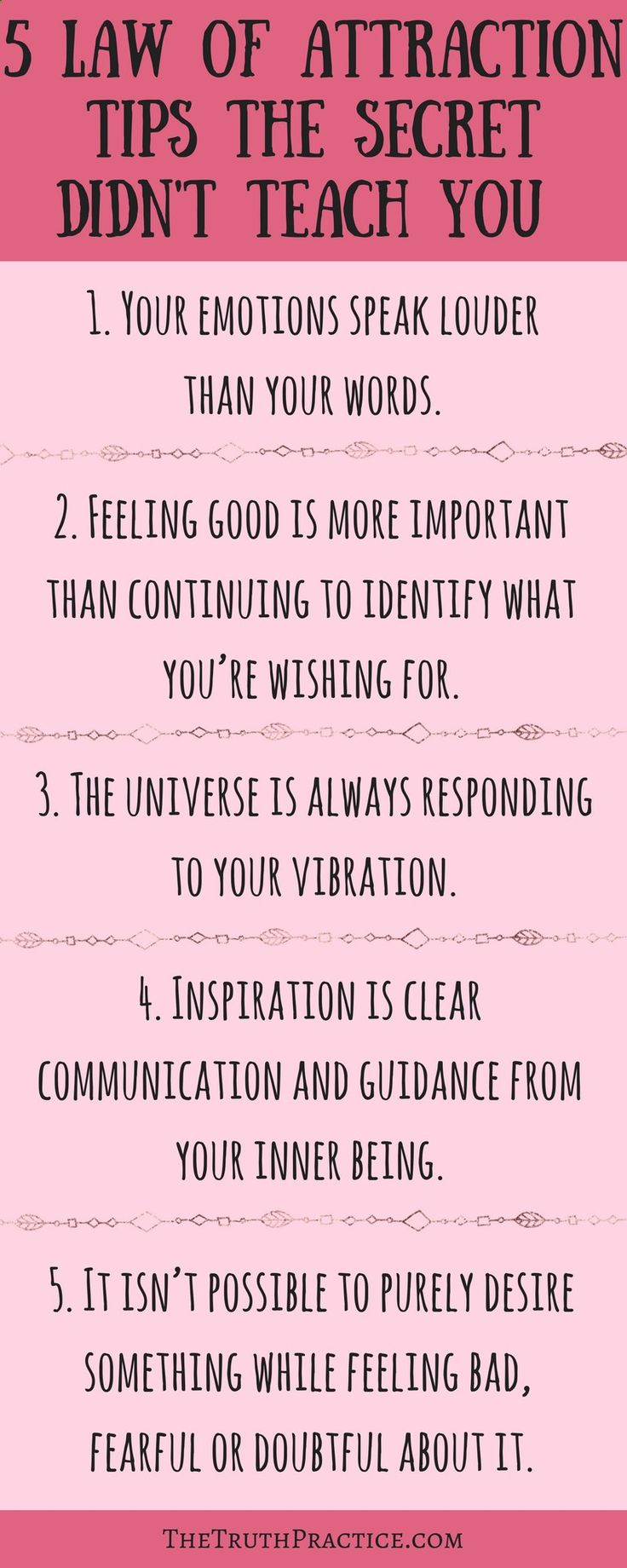Click the pin to READ ALL 10 law of attraction tips that the secret didn't teach you. How do you use the law of attraction to manifest your dreams? There is more to it than a beautiful vision board and law of attraction tips from the secret. Go to TheTrut