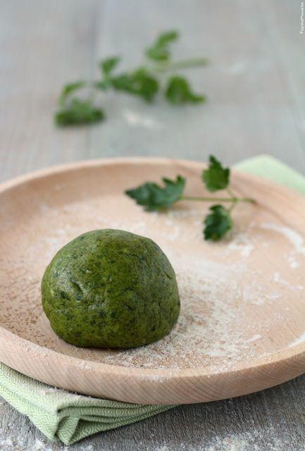 Pasta frolla #verde salata – facile e #light