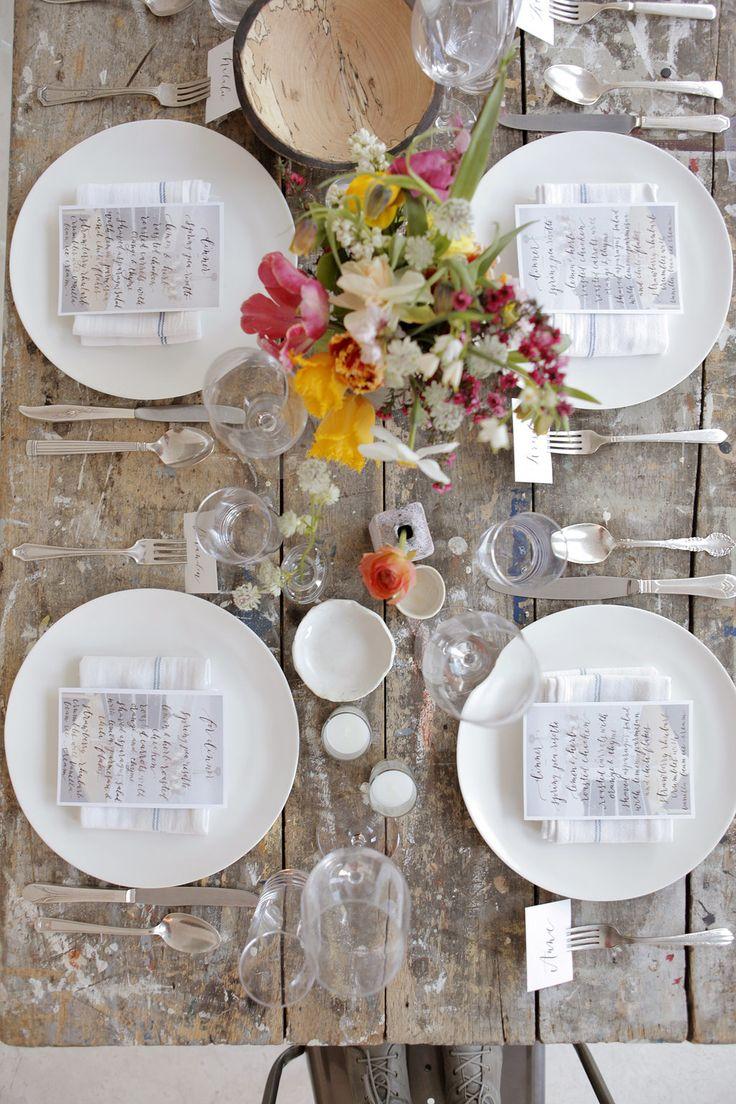 Manhattan Dinner Party Dinner Table Settings