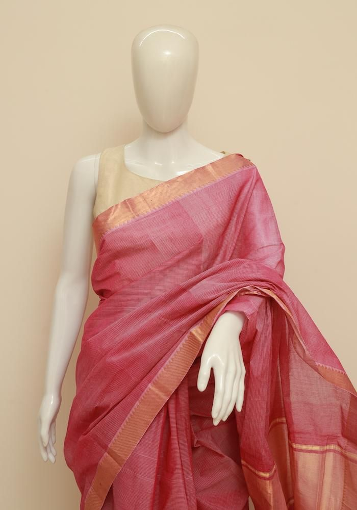 b2ae19d1deeee0 Mangalgiri Saree – Desically Ethnic | Sarees in 2019 | Cotton saree ...