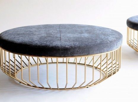 Fresh Ottoman Coffee Table with Stools
