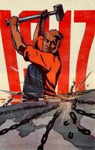 Karl Marx: İşçi sınıfının zincirlerinden başka kaybedecek şeyleri yok. Kazanacakları bir dünya var #EkimDevrimi100Yaşında
