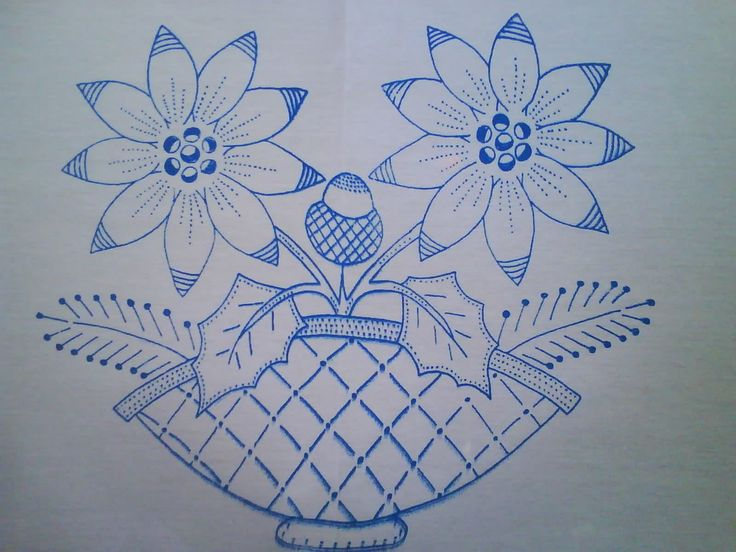 dibujos para bordar a mano