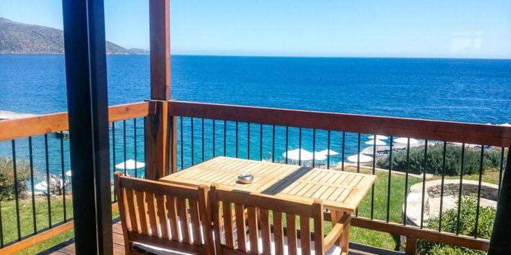 Traumhafter #Meerblick im 5* Hotel St. Nicolas Bay #Kreta © Petra Kulterer