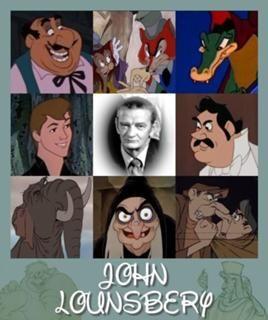 """John Lounsbery (Animator For Disney. One Of Disney's """"Nine Old Men"""")."""