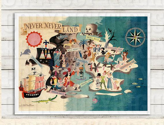 Peter Pan Neverland imprimable. Imprimable par withwildabandon