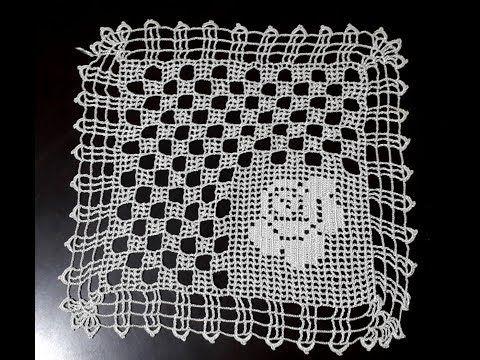 Tığ işi dantel örgü yapımı Part 2 & Crochet - YouTube
