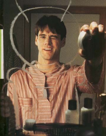 The Truman Show [1998] directed by Peter Weir, starring Jim Carrey, Laura Linney, Noah Emmerich, Natascha McElhone, Holland Taylor, Ed Harris, and Brian Delate.