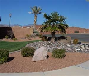Desert landscaping ideas ... for reference when the weather is just a little cooler and we are ready to get to work in the yard.