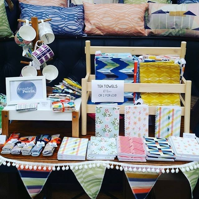 regram @annabelperrin1 All set up and ready to go @hnmarkets which is about to start! Here until 5pm today so if you're in Notts today come and say hello. You'll find me and lots of other lovely stall holders @maltcross #handmadenottingham #spring market #maltcross #nottingham #shopping #homeware #gifts #designermaker #interiors #handmade