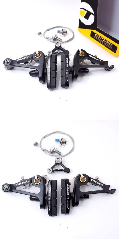 Rear Black Cyclocross Touring Tektro CR720 CX Cantilever Brake Set Black Front