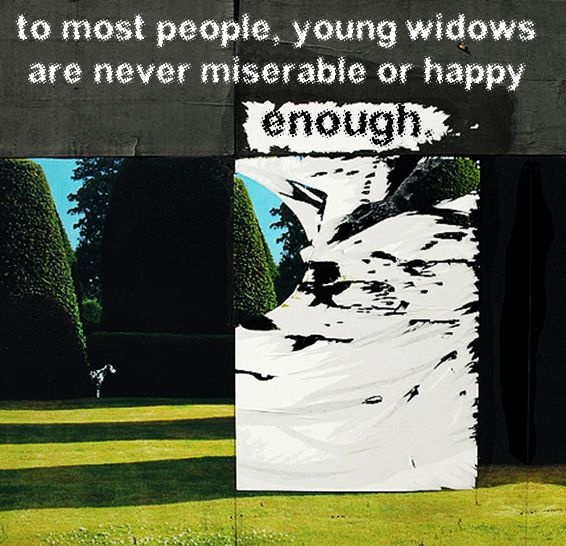 widowed young dating quotes