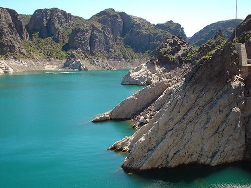 Mendoza, Argentina, pretty sure I zip lined across this lake